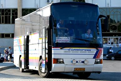 Автобус краснодар крым расписание цена билета